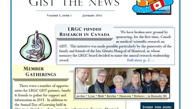 LRGC Newsletter Jan 2016