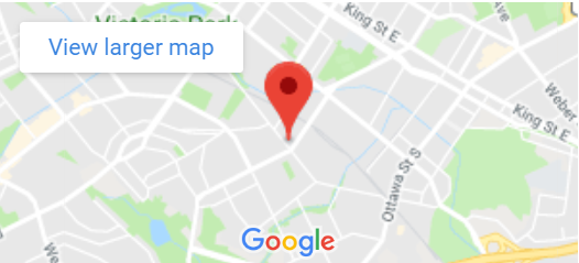 Google Map for Mill Courtland Community Centre