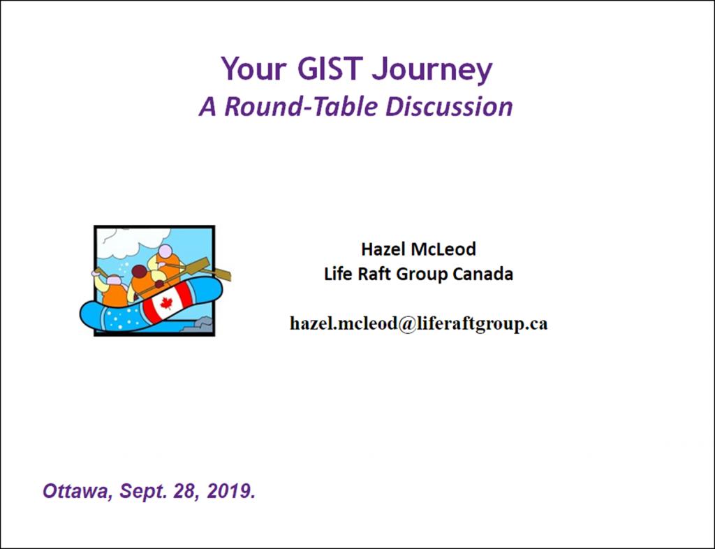 Title Slide - Your GIST Journey